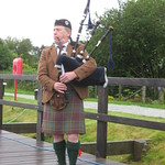 Surprise Bagpipe Concert