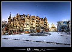 Old England in Winter @ Brussels, Belgium :: HDR photo by Erroba