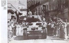 1944- Provence- Hyères -Char du RFM