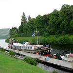 Mooring on the Caledonian Canal