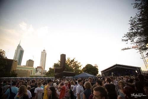 St. Jerome's Laneway Festival, Perth Cultural Centre