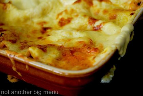 Vegetable lasagne 1