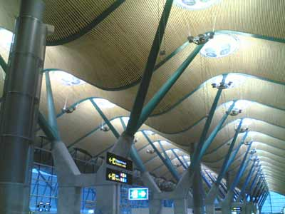 Nueva terminal de Iberia T4 en Barajas