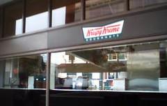Photo of Krispy Kreme shop in DC