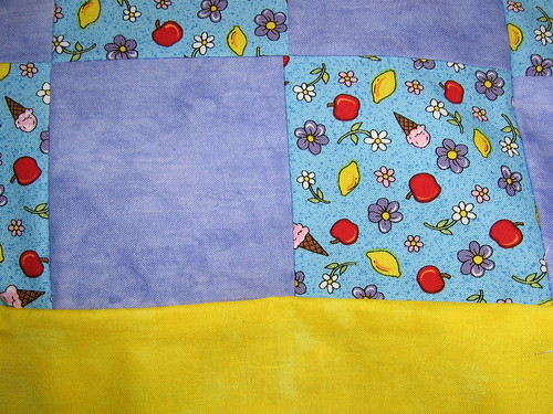 baby quilt close