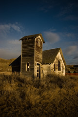 ghost town church (abandoned) photo by bealluc