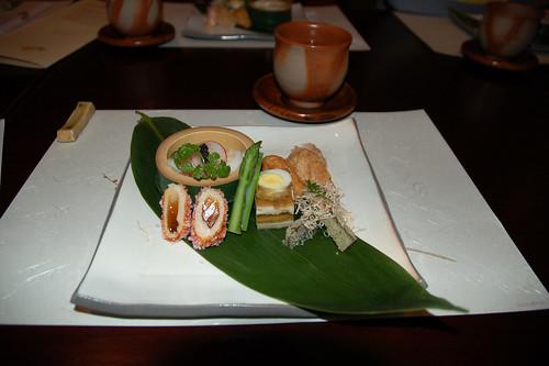 Saki zuke (starter)