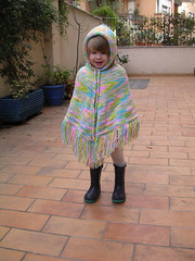 Knitting Pure Simple Children's Poncho