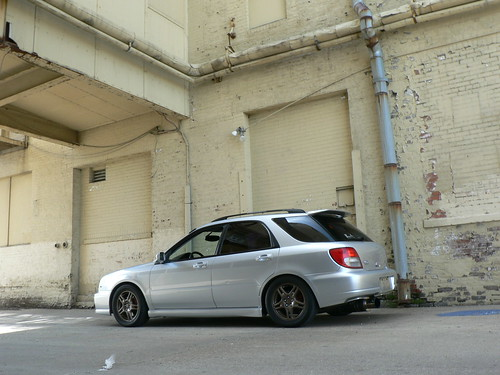 post pics of 0405 wrx wagon lowered setups  NASIOC