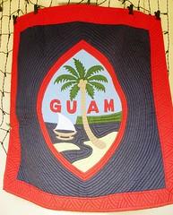 Guam Flag Quilt