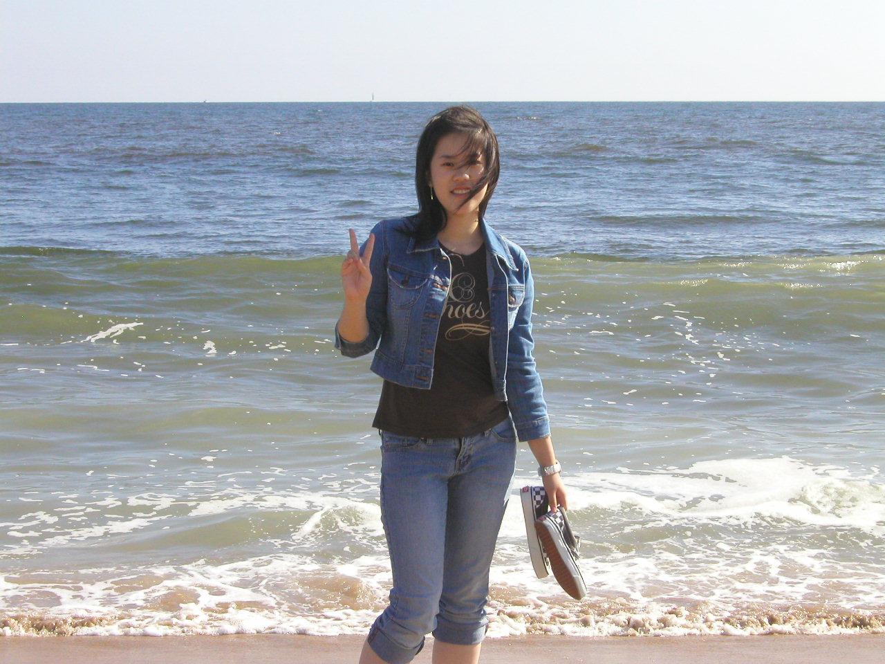 Rebecca at Balboa Island