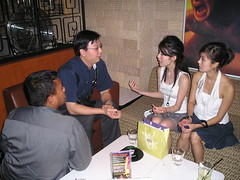 Me and massb Interviewing Samantha and Ezann