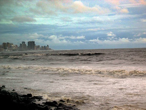 Raging Arabian Sea