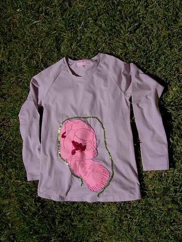 T-shirt grávida
