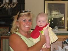 Leda's first Foreigner - Debbie!