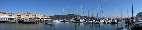 Sams/Tiburon Panoramic Shot