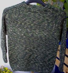 Pojan villapaita Nalle Colorista (n. 130 cm)