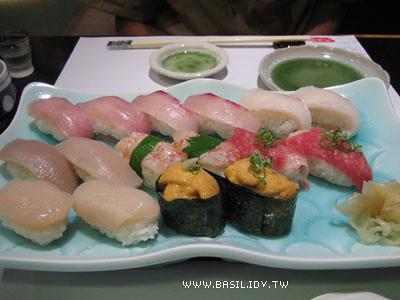 握壽司一大盤