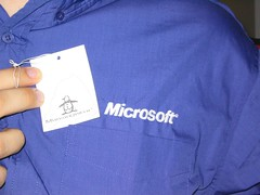 Penguins Make Microsoft Shirt