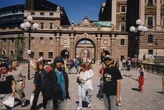 Pedestrian Walk Drottninggatan, Stockholm, Sweden