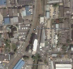 Amagasaki Train Accident Site - April 25, 2005