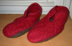 Slippers in Progress