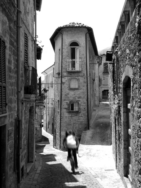 Cycling in Civitella del Tronto