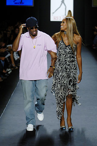 diddy and naomi in sean by sean john