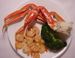 Crab and Shrimp