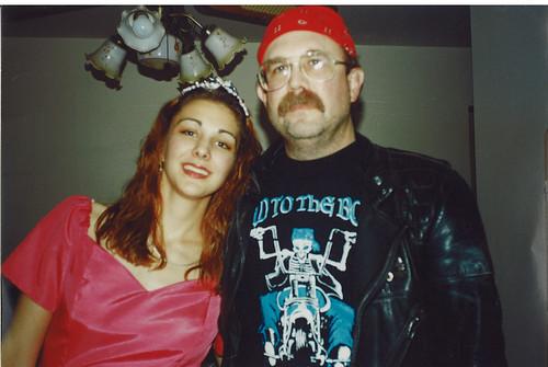 princess me and biker dad
