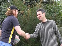 The Farewell Handshake