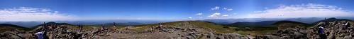 Mt. Moosilauke Summit Pano.