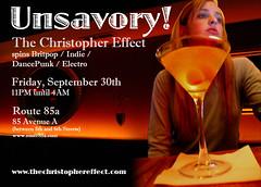 Unsavory! September 30