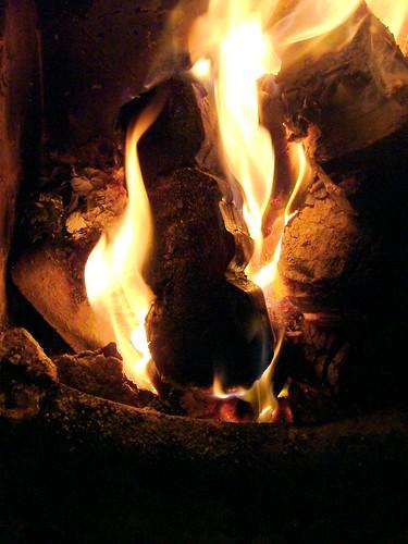 Dublin, Ireland. Mmmhhh wonderful fire. ADOE