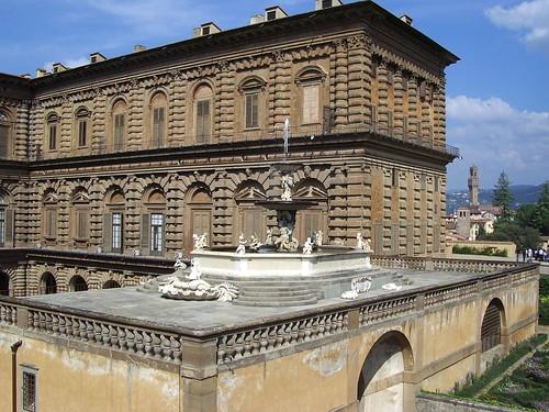 Florencia - Palazio de Piti - Jardines de Boboli - Septiembre 2005