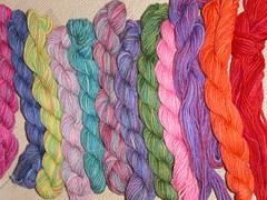 DK sock wool