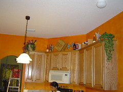 Our painted kitchen