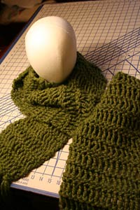 Rustic Earth Cowl Pattern and Drop Stitch Tutorial