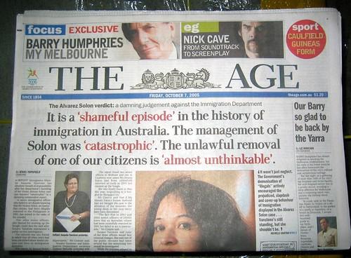 Solon report headline