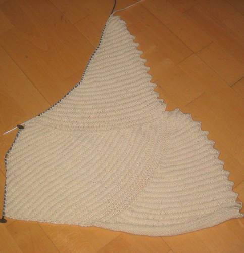 Curlicue blanket, section 3