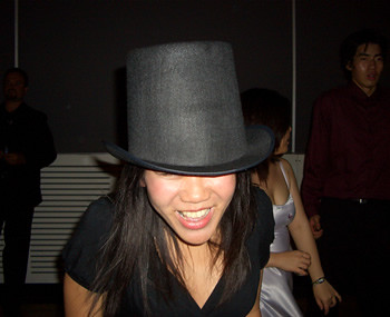 top hat action