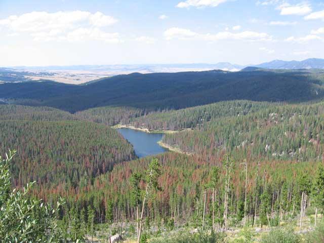overlooking Butte