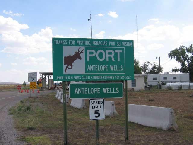port of Antelope Wells