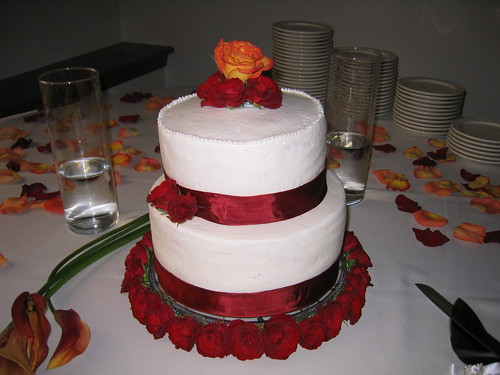 Jenn's Wedding Cake