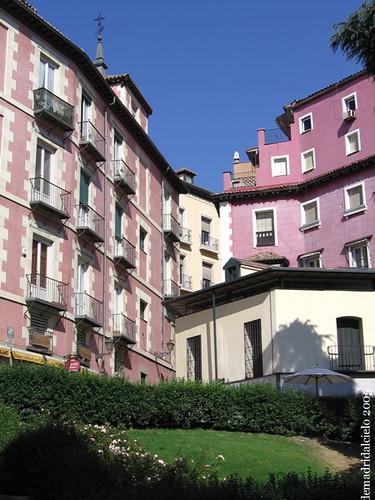 Edificios de colores en Madrid