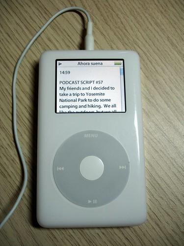 ...en el iPod