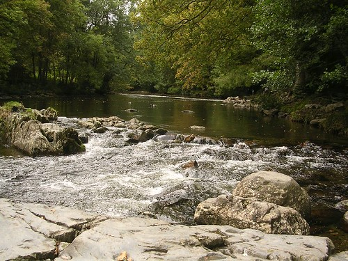 La rivière à Betws-y-Coed