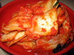 Spicy Kimchi for lunch