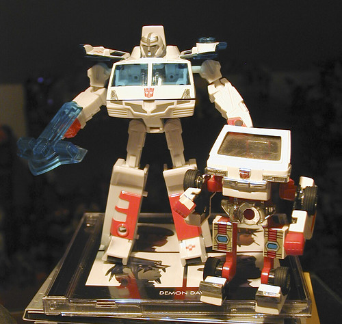 October 13, 2005 - Botcon Ratchet with G1 Ratchet