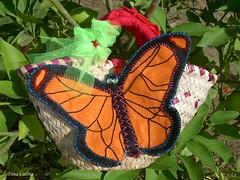 Mini-alcofa borboleta frente